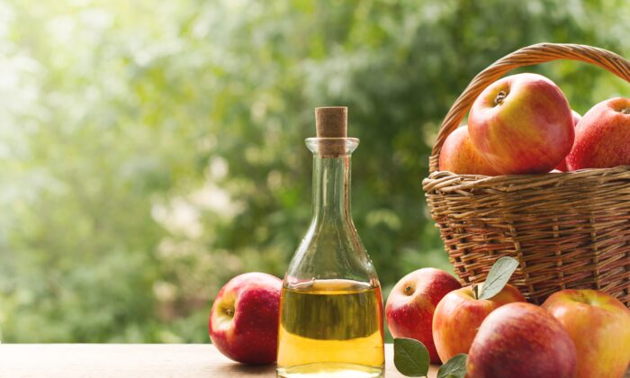 About one tablespoon of apple cider vinegar a day is typically enough to see health benefits. (denira/Shutterstock)