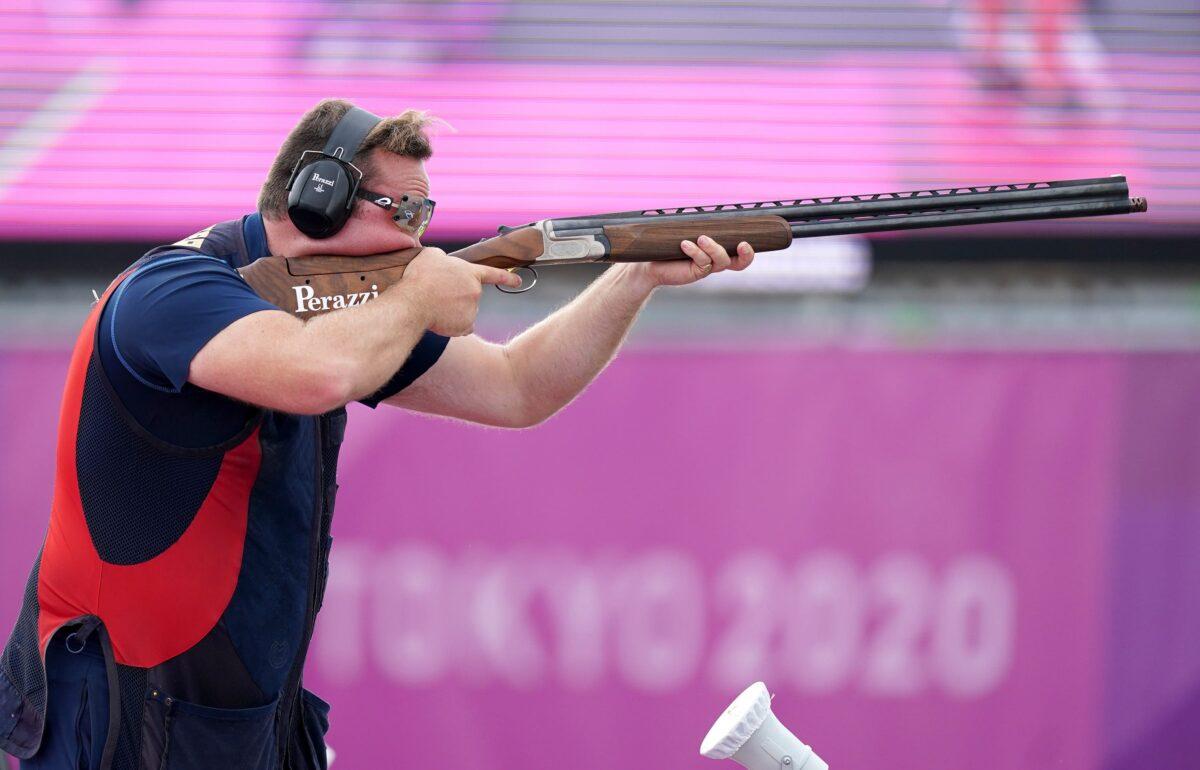 The Team GB shooter Matt Coward-Holley