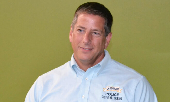 Former Greenwood police chief Greg Hallgrimson in a file photo. (Greenwood Police Department)