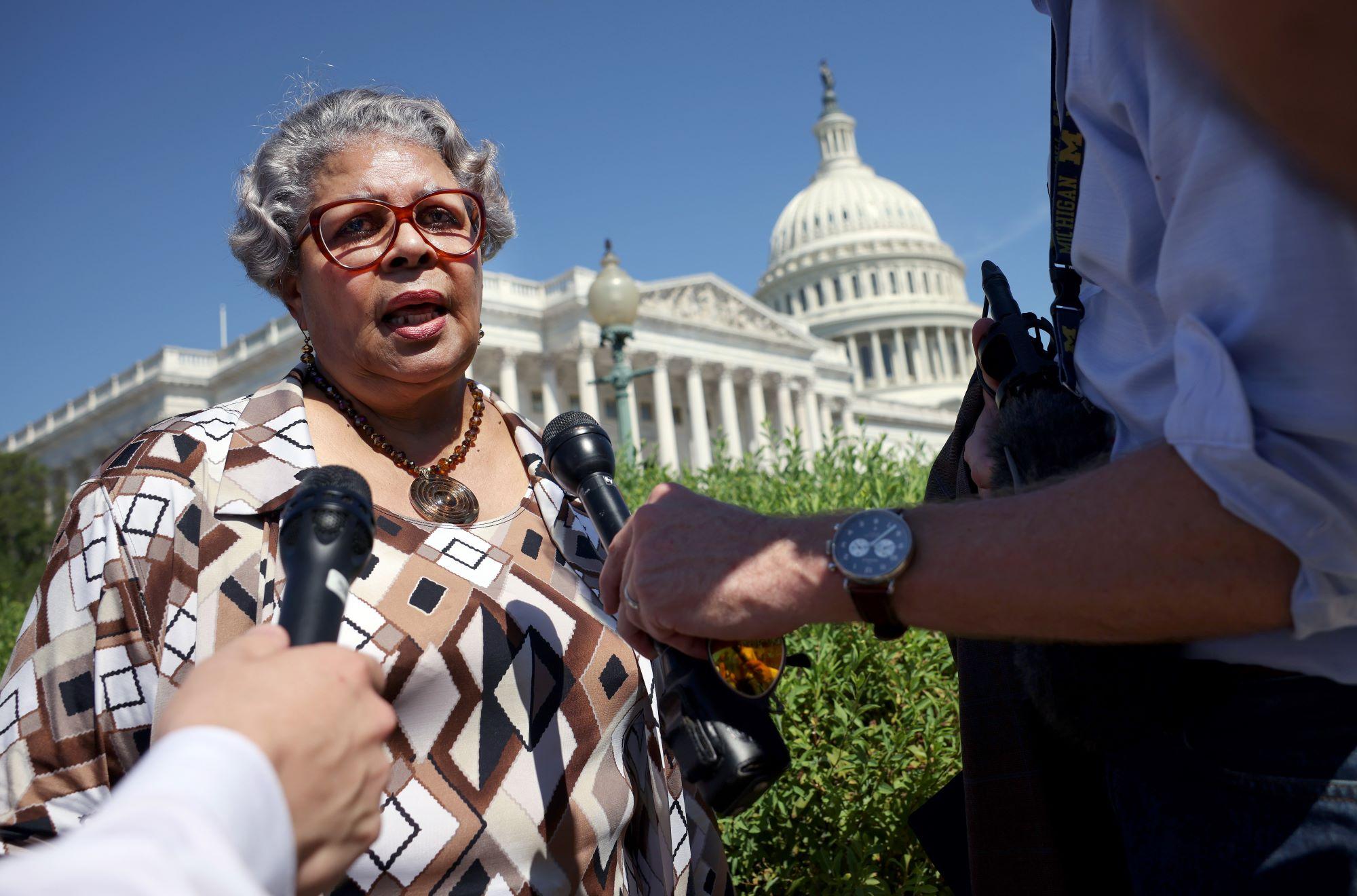 Texas state House Democrat Rep. Senfronia Thompson