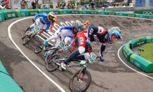 US BMX Racer Connor Fields Carried Off on Stretcher After Olympics Crash