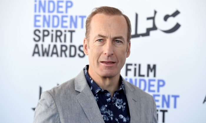Bob Odenkirk arrives at the 35th Film Independent Spirit Awards , in Santa Monica, Calif., on Feb. 8, 2020. (Jordan Strauss/Invision/AP Photo)