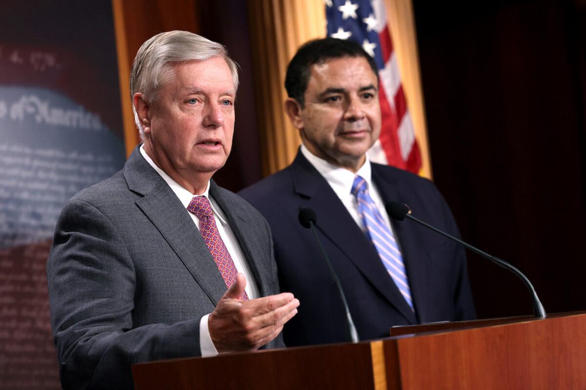 In Bipartisan Letter, Graham and Cuellar Urge Biden to Hire Jeh Johnson as Border Czar