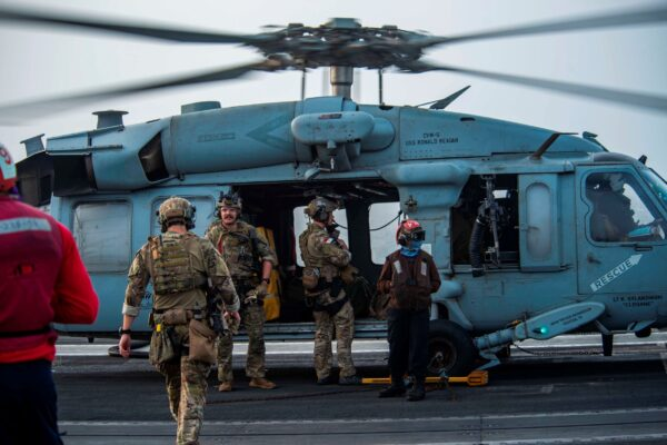 U.S. Navy MH-60S Seahawk helicopter