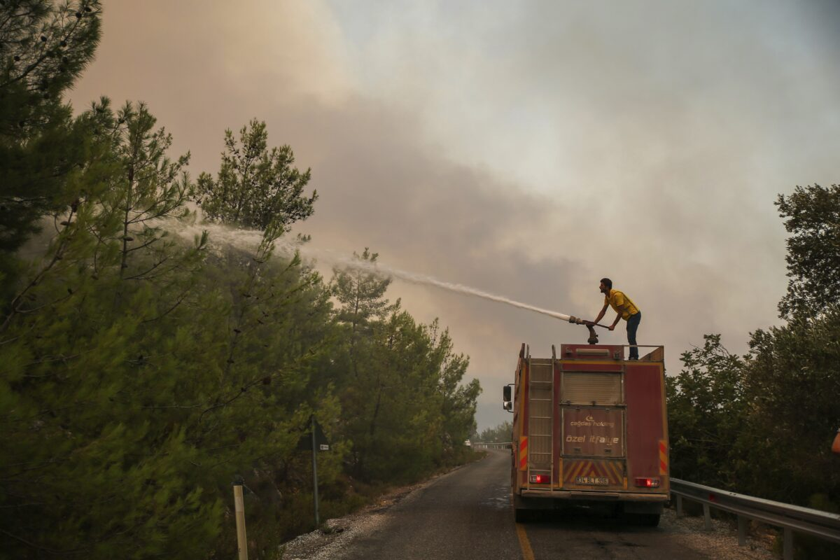 Turkey Wildfire