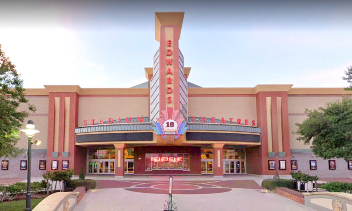 File photo of the Edwards theater in Corona, California where the shooting took place. (Google Maps)