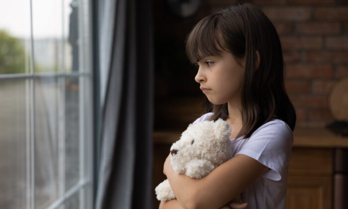 Traumatic events during childhood can change a person's stress response in ways that lead to a lifetime of pain and illness. (fizkes/Shutterstock)