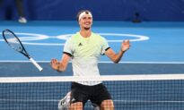 Germany's Zverev Cruises Past Khachanov to Olympic Tennis Gold in Tokyo