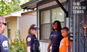 Police Replaces Boy's Stolen Basketball Hoop