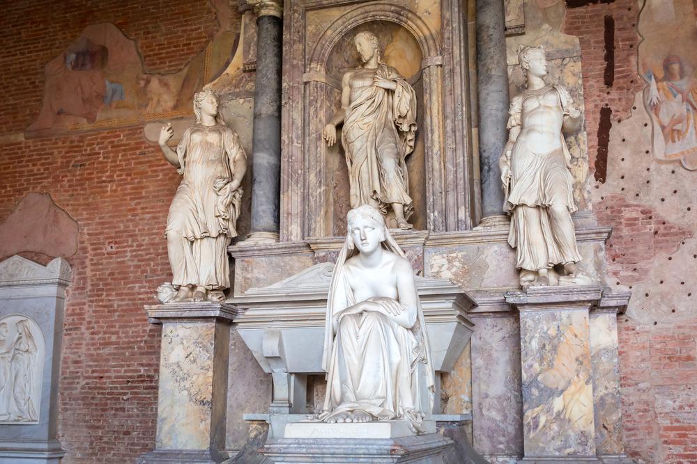 Pisa,,Italy,-,April,11,,2015:,Sculpture,In,The,Monumental