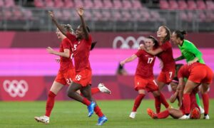 Canada Upsets US With 1–0 Win in Women's Soccer