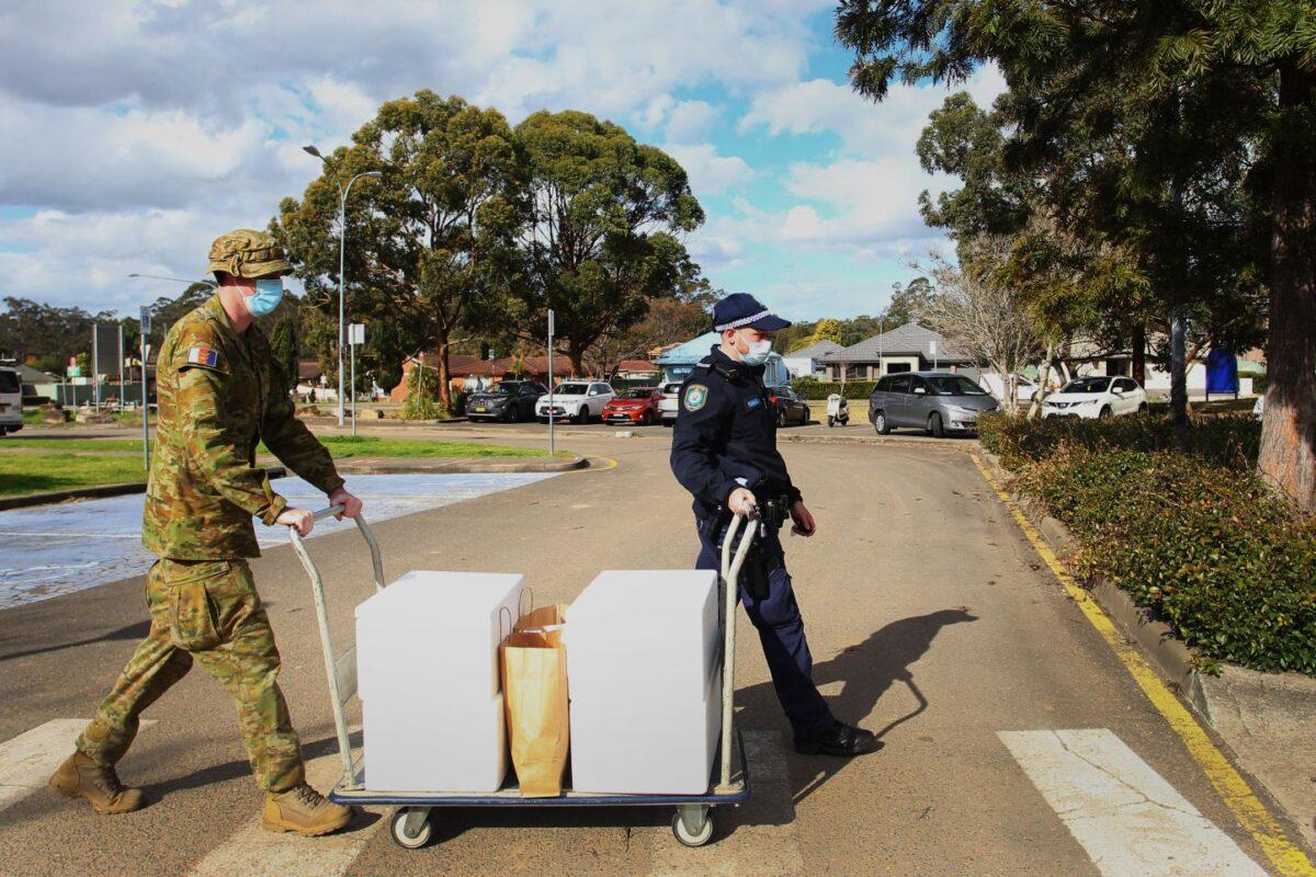 Australian Military Joins COVID-19 Lockdown Monitoring in Sydney
