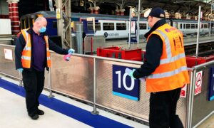 No Traces of Virus Found in Tests of UK Railway Stations and on Trains