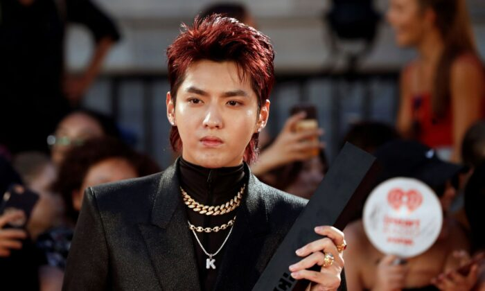 Kris Wu arrives at the iHeartRadio MuchMusic Video Awards (MMVA) in Toronto, Ontario, Canada, on Aug. 26, 2018. (Mark Blinch/Reuters)