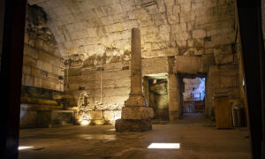 Archeologists Uncover New Sections of 2,000-Year-Old Tunnels in Western Wall in Jerusalem
