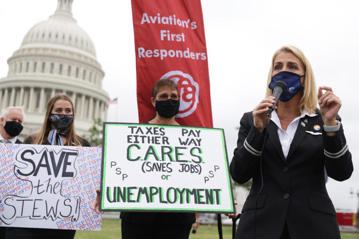 Sara Nelson, flight attendants' union president