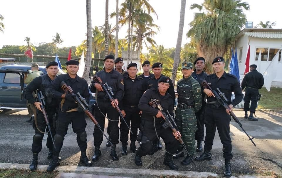 cuban police china training