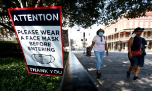 Louisiana First to Reimpose Indoor Mask Mandate Regardless of Vaccination Status
