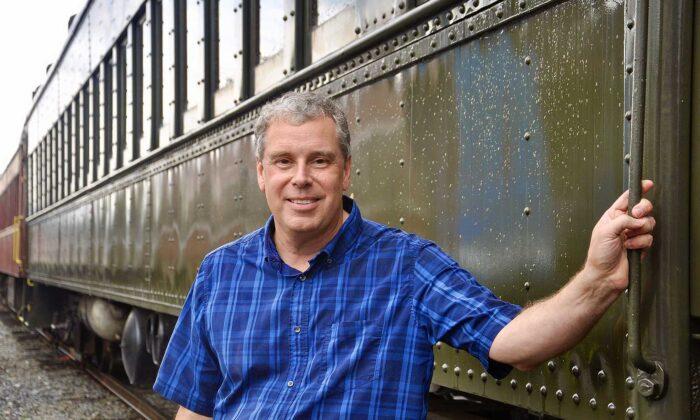 Everett Railroad president Alan Maples. (Shannon Venditti)