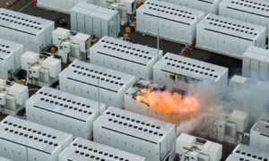 Australia's Biggest Battery Ablaze for 4 Days as Technology Woes Grow
