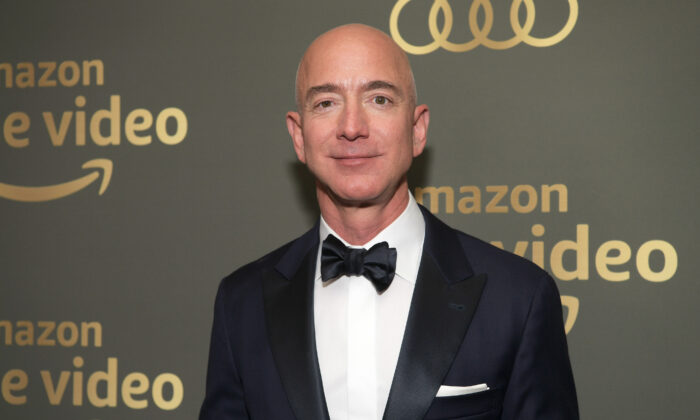 Amazon CEO Jeff Bezos attends the Amazon Prime Video's Golden Globe Awards After Party at The Beverly Hilton Hotel in Beverly Hills, Calif. on Jan. 6, 2019.  (Emma McIntyre/Getty Images)