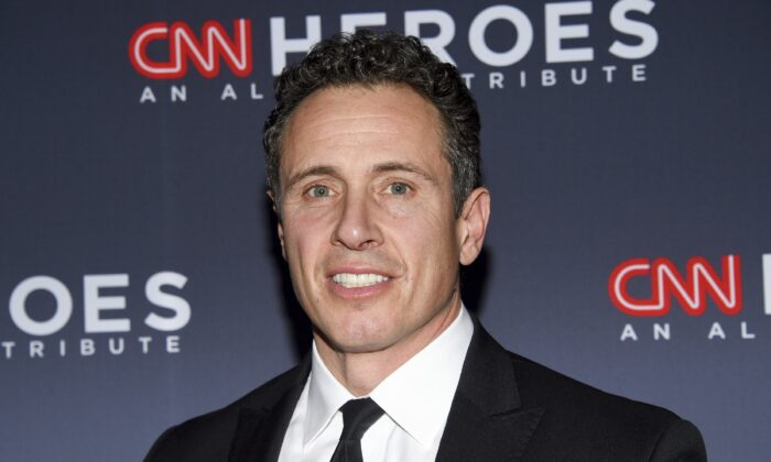 CNN anchor Chris Cuomo attends a network event in New York on Dec. 8, 2018. (Evan Agostini/Invision/AP)