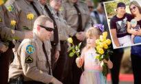 Daughter of Fallen Law Enforcement Officer Gets Sheriff's Escort to Her First Day of Kindergarten