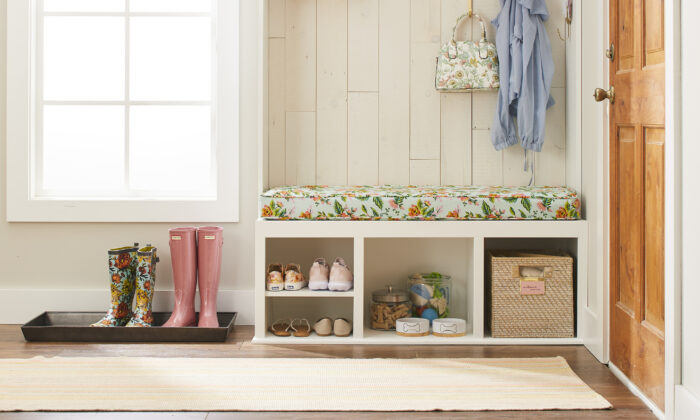 Clever solutions and space-planning ideas help you carve out the just-right spot for a practical, pretty mudroom. (Marty Baldwin/TNS)