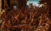 'The Stoning of Saint Stephen' by Renaissance Painter Aurelio Lomi