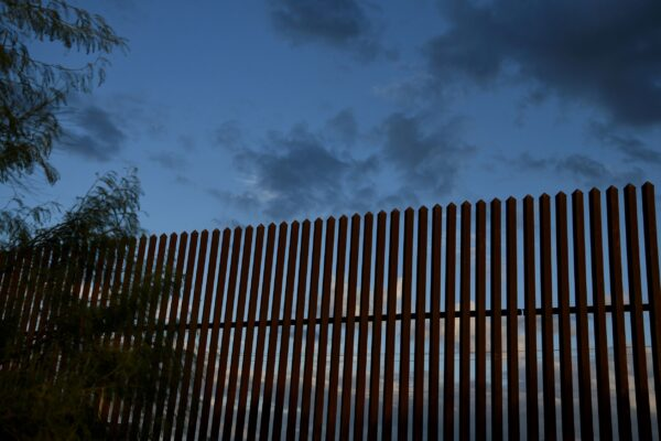 section-of-border-fence