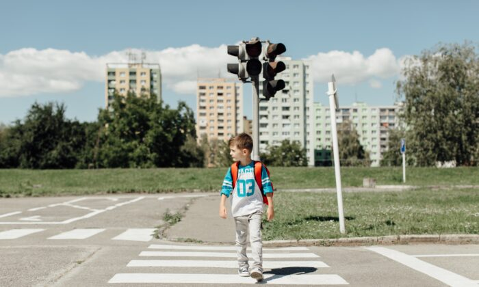 Giving kids reasonable freedom to roam on their own may help them learn better navigational strategies and build confidence when they travel alone. (Newman Studio/Shutterstock)