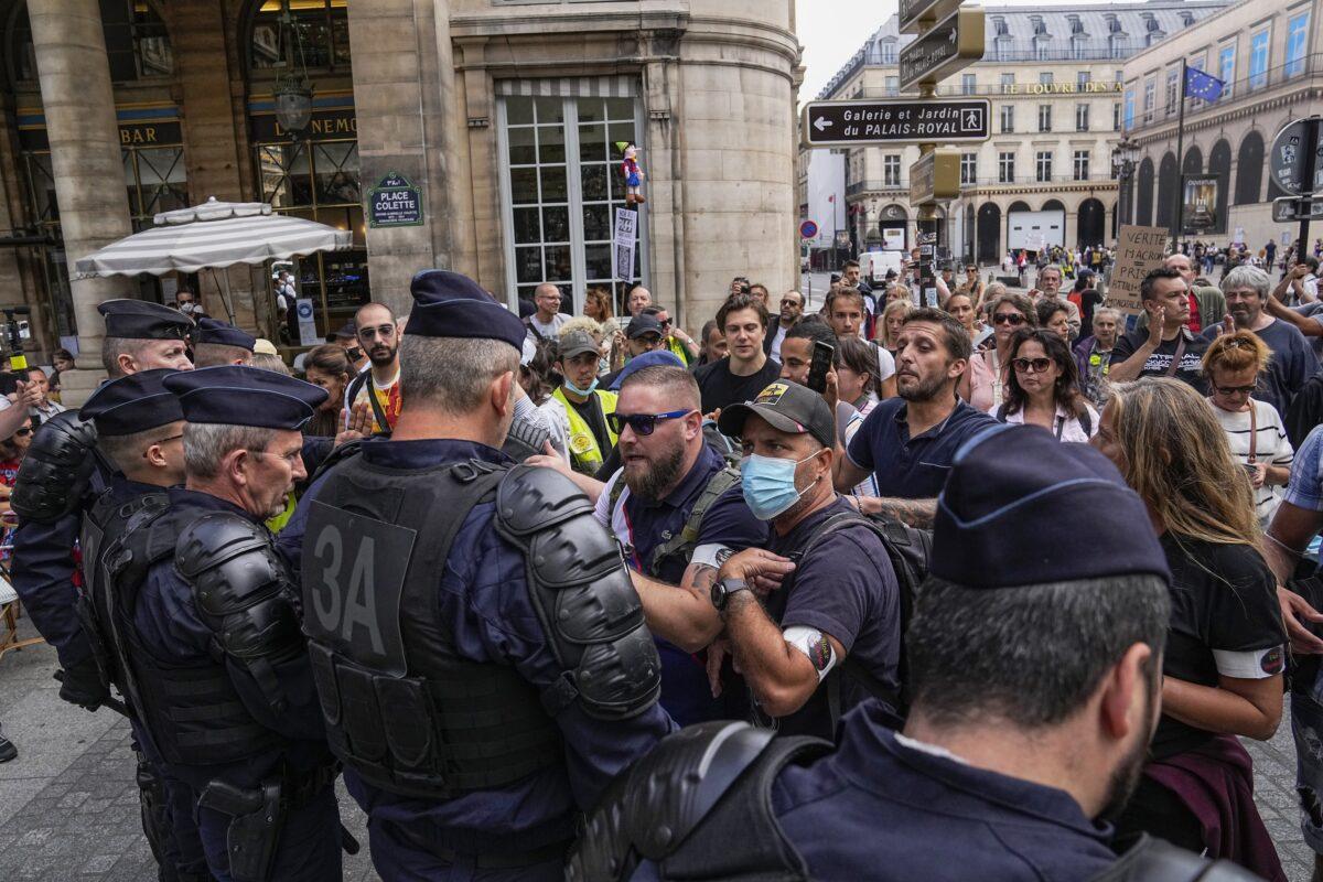 Anti heath pass demonstrators