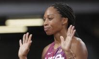Felix Runs for History, Americans Seek More Basketball Gold