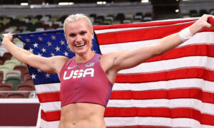 US Pole Vaulter Katie Nageotte Wins Gold in Tokyo Olympics Finals