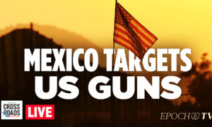 Live Q&A: Mexico Sues US Gun Makers for Cartel Violence; Vaccine 'Badges' Coming to California
