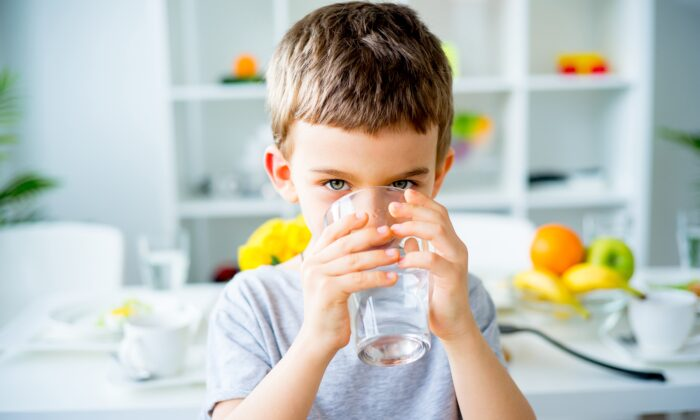 One formula advises you divide your weight by two to get the number of ounces of water you should drink a day. So 160lbs ÷ 2 = 80oz. (Elena Nichizhenova/Shutterstock)