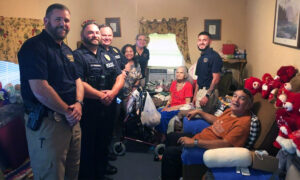Police Officers Respond to Elderly Woman in Need, Pitch in to Buy Her a New Fridge, Groceries