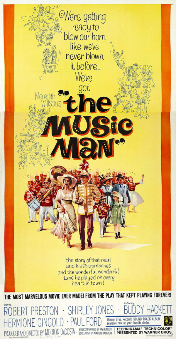 The-Music-Man-1962-Film-Poster