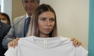 Belarusian Olympic Sprinter Says Family Warned Her to Flee, Fearing Reprisals