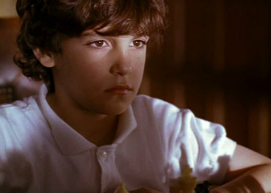 boy in white shirt in SEARCHING FOR BOBBY FISCHER