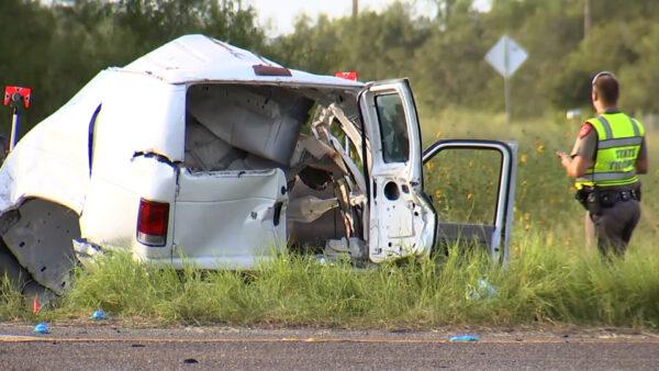 Deadly van crash