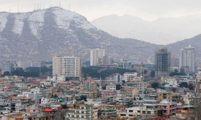 A general view of green zone in Kabul, Afghanistan, on March 13, 2019. (Omar Sobhani/Reuters)