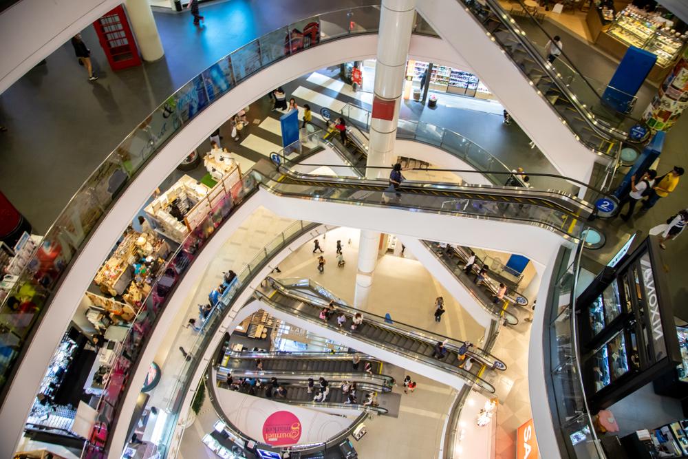 Bangkok,,Thailand.,June,19,2019.,Terminal,21,Shopping,Mall,At