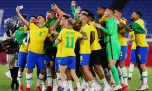 Malcom Grabs Golden Soccer Glory for Brazil