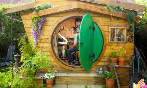 British Man Builds 'Hobbit House' in His Backyard to Fulfill Childhood Dream