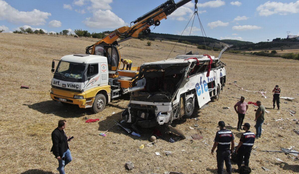 Turkey Bus Crash