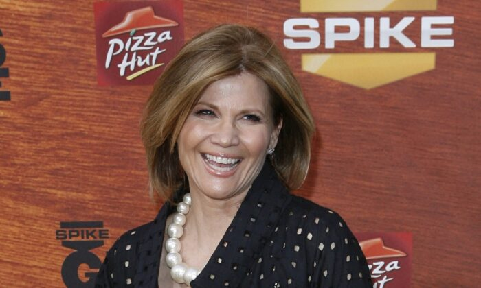 """Actress Markie Post arrives at the Spike TV """"Guys Choice"""" award show in Los Angeles, Calif., on May 30, 2008. (Gus Ruelas/AP Photo)"""