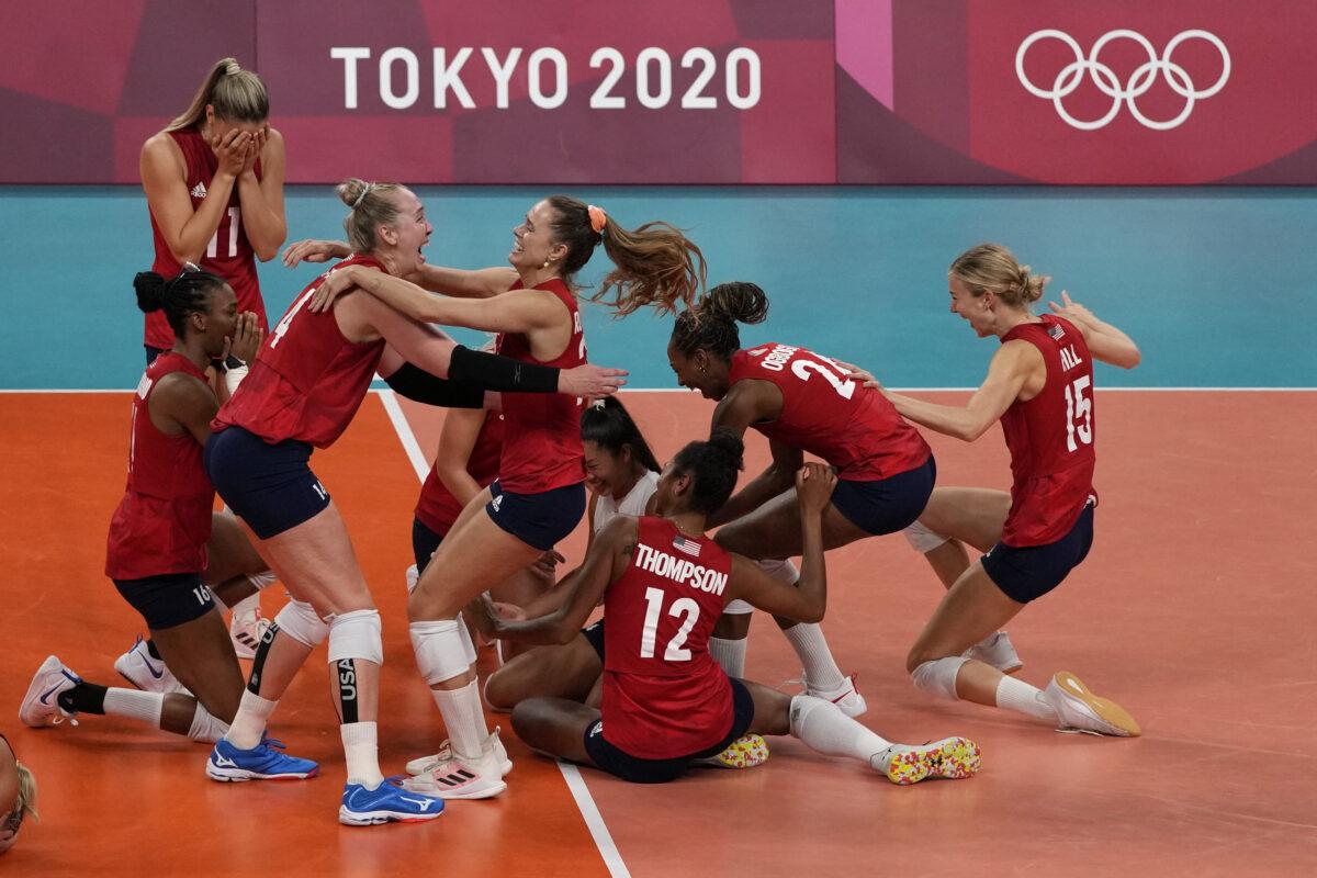 APTOPIX Tokyo Olympics Volleyball