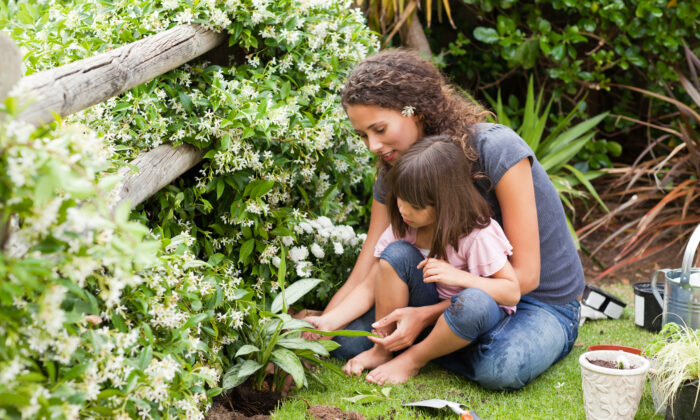 Creating a good environment at home and offering encouragement provides a setting for children to learn naturally. (ESB Professional/Shutterstock)