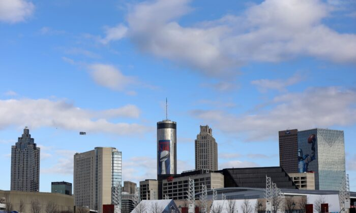 A general view of the skyline is seen in Atlanta, Ga., on Feb. 3, 2019. (Streeter Lecka/Getty Images)